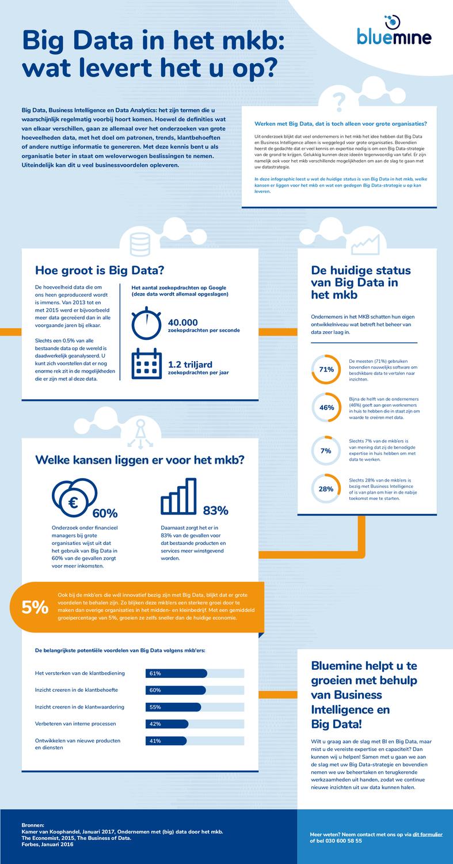 Infograpgic Big Data in het MKB: Wat levert het u op?
